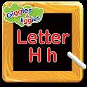 Letter H for LKG Kids Practice