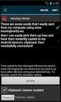 Screenshot of Moving Words