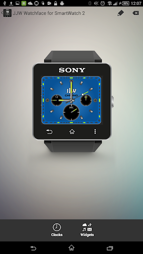 JJW Chrono Watchface 5 for SW2