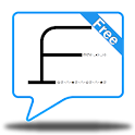Facemarks Free(♥ NEW text art) icon