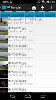 Screenshot of Wifi File Transfer