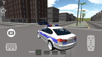 Screenshot of Police Car Drifting 3D