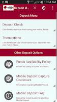 Screenshot of First Century Bank Mobile Bank