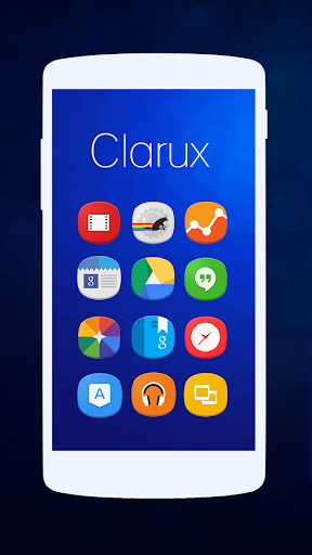 Clarux - Icon Pack