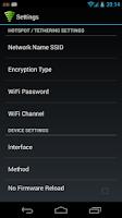 Screenshot of WiFi Tether Router