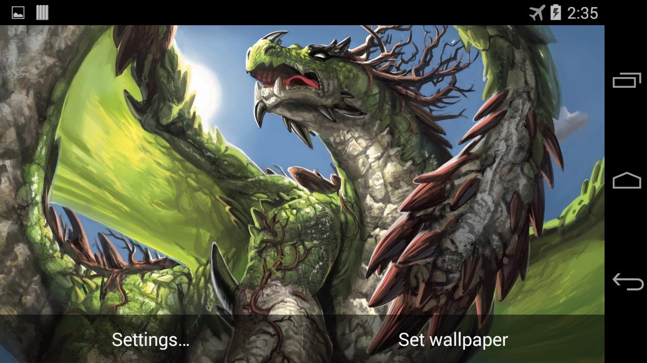 app dragon live wallpaper - photo #44