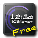 jClockWidget DigitalClock Free icon
