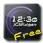jClockWidget DigitalClock Free icon