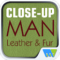 Close-Up Man Leather & Fur
