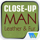 Close-Up Man Leather & Fur icon