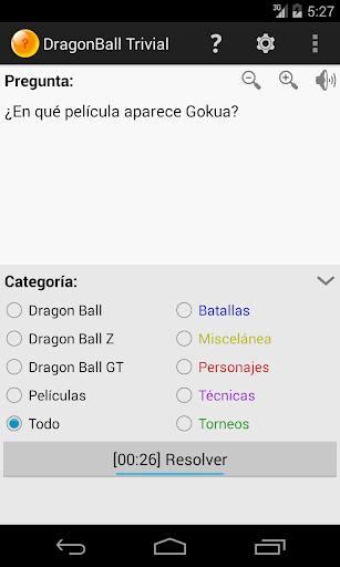 Trivial de DragonBall