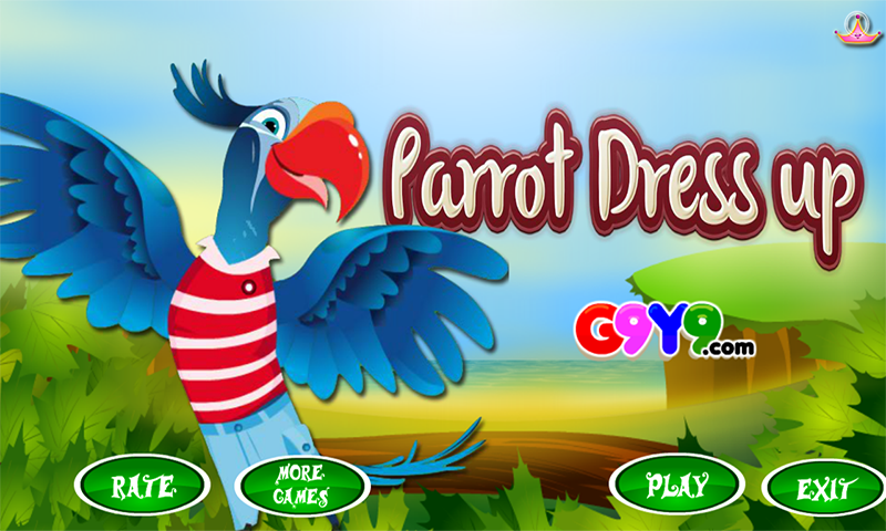 parrot dress up- screenshot
