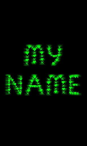 My Name Neon