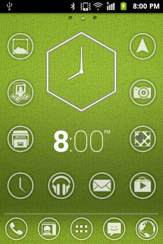 個人化必備APP下載|Polygon Analog Clocks HD 好玩app不花錢|綠色工廠好玩App