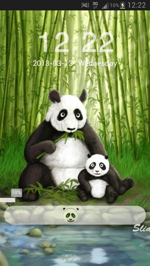 GO Locker Theme Panda- screenshot