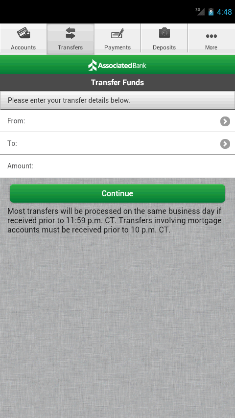 Associated Mobile Banking- screenshot