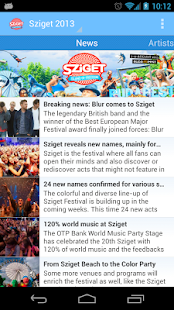 Sziget 2013 - screenshot thumbnail