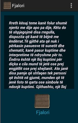 Fjalori i Komentimit Endrrave