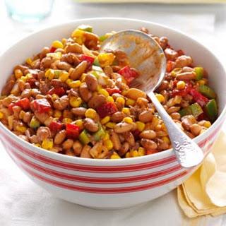 Barbecued Bean Salad