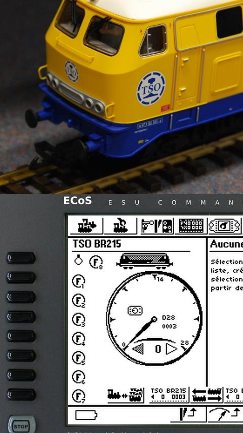 ECoS Controller- screenshot
