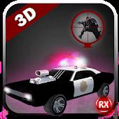 Police Cop Car Sniper