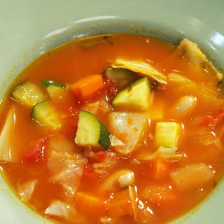 Rustic Vegetable Soup.