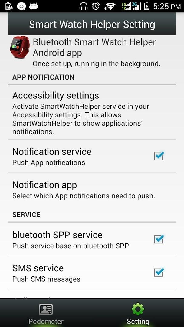 smartwatch helper app