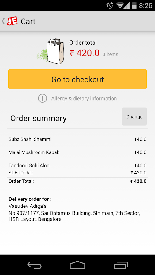 JUST EAT - Order Food Online- screenshot