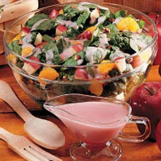 Fruited Spinach Salad.
