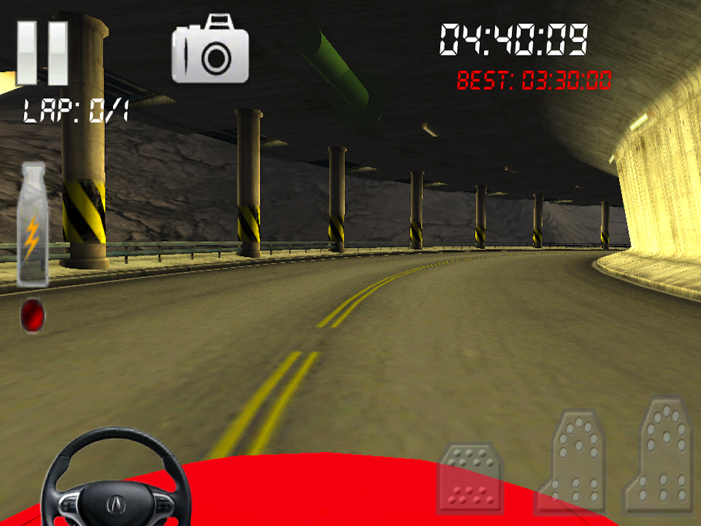 Race Gear-Feel 3d Car Racing- screenshot