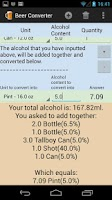Screenshot of Alcohol & Beer Converter