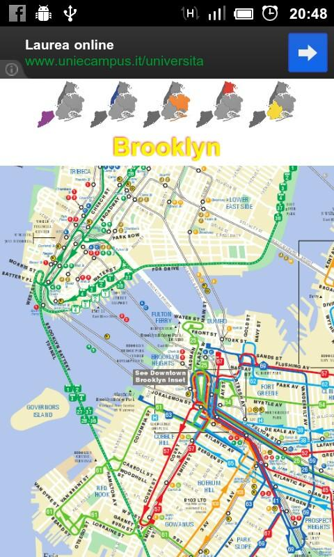 New York Offline Map - screenshot