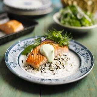 Salmon with a Hint of Wasabi Recipe