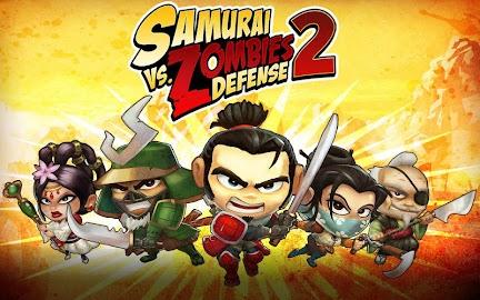 SAMURAI vs ZOMBIES DEFENSE 2 Screenshot 11