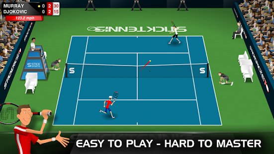 Stick Tennis Screenshot 26