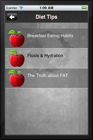 Elite Performance Nutrition IA- screenshot
