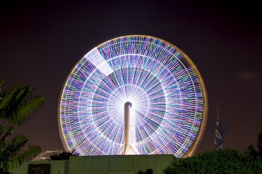 StarGate by Edison Madrideo - Abstract Light Painting ( abstract, wheel, night, long exposure, light )