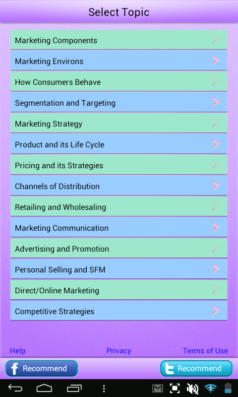 MBA Marketing Learn Review- screenshot