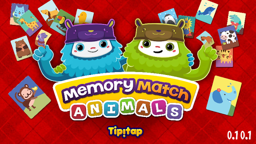 Animals Memory Match
