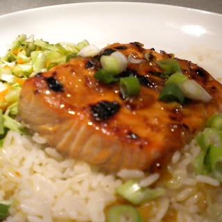 Asian Inspired Salmon.