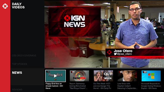IGN For Android TV- screenshot thumbnail