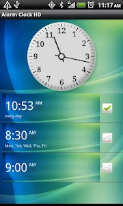 Alarm Clock HD screenshot 0