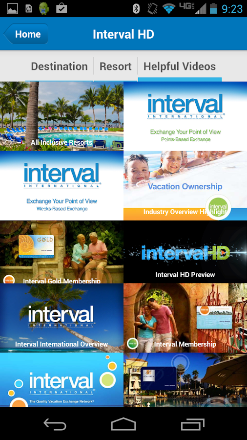 Interval International- screenshot