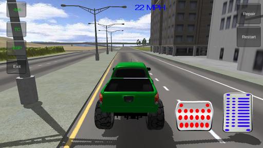玩免費賽車遊戲APP|下載怪物卡车模拟器 app不用錢|硬是要APP