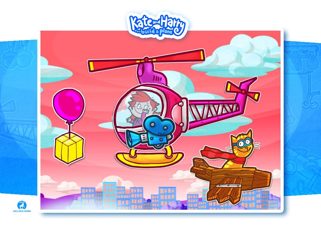 Build a Plane with Kate&Harry- screenshot