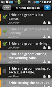 WEDDING PICTURES PLANNER screenshot 1