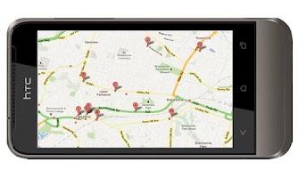 Screenshot of Visit Scotland GPS Locator Pub