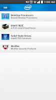 Screenshot of Intel Channel Products Guide