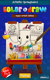Color & Draw: Super Artist Ed. - screenshot thumbnail