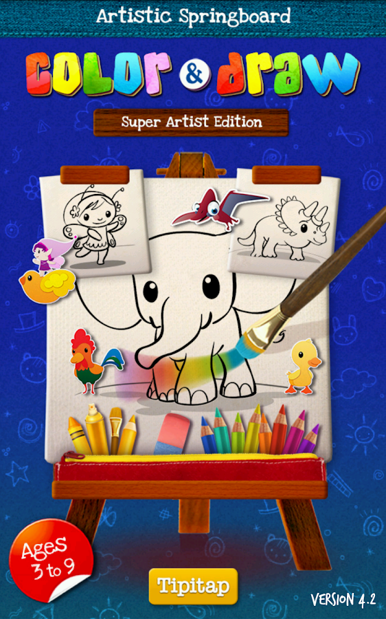 Color & Draw: Super Artist Ed. - screenshot